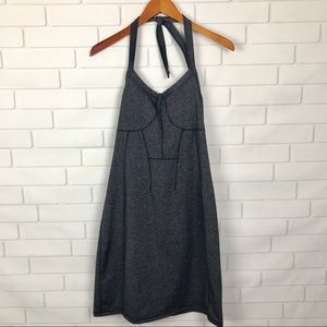 Athleta Dress Modra Halter